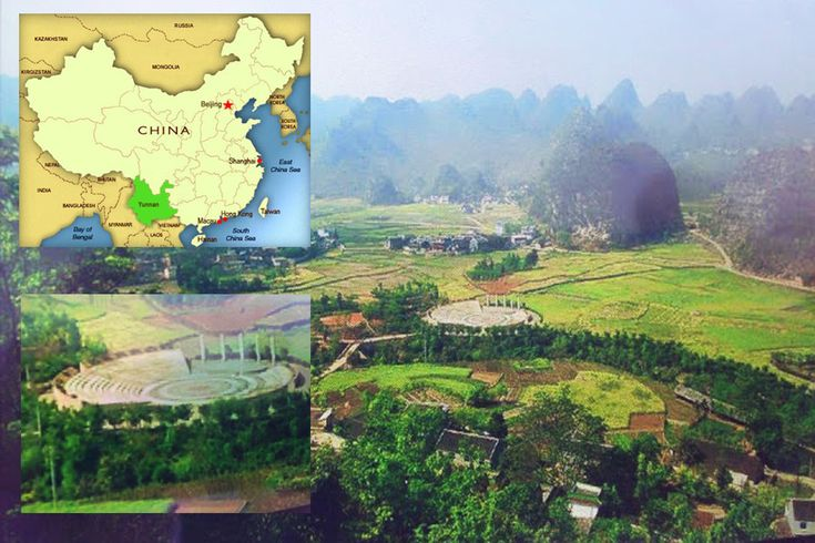 Ancient Greek theater in Yunnan region in China ! <span class=postdate>03/02/2016</span>