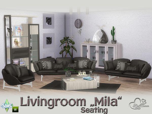 Wohnzimmereinrichtung, Künstler, Möbel