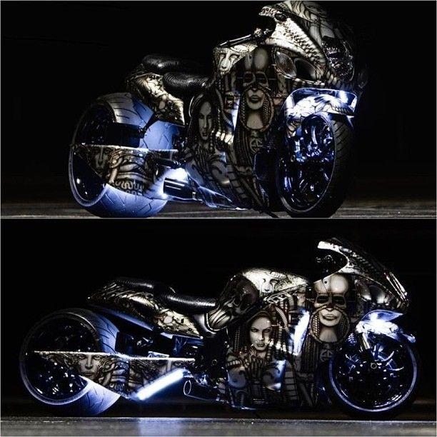 Awesome hayabusa custom #moto #motogp #motolife #motosport #motorcycle #instabike #instagood #instamoto #instacrazy #instamotorcycle #instamotogallery #sportbike #superbike #supermoto #streetbike #supermotorbikes #bike #bikelife #bikekings #ride #riders #pistonheadz #suzuki #hayabusa #suzukihayabusa