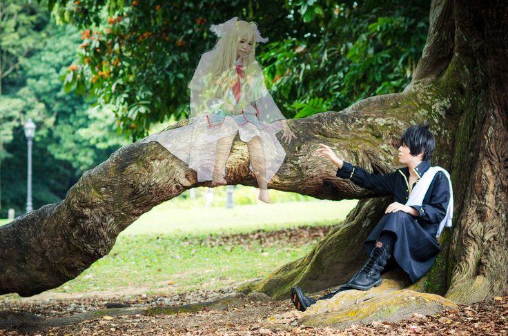 AMAZING cosplay ll FairyTail II Mavis Vermillion and Zeref by YukiRichan