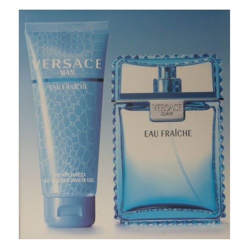 Versace Eau Fraiche 2 Pc Gift Set With 3.4 Oz By Versace For Men