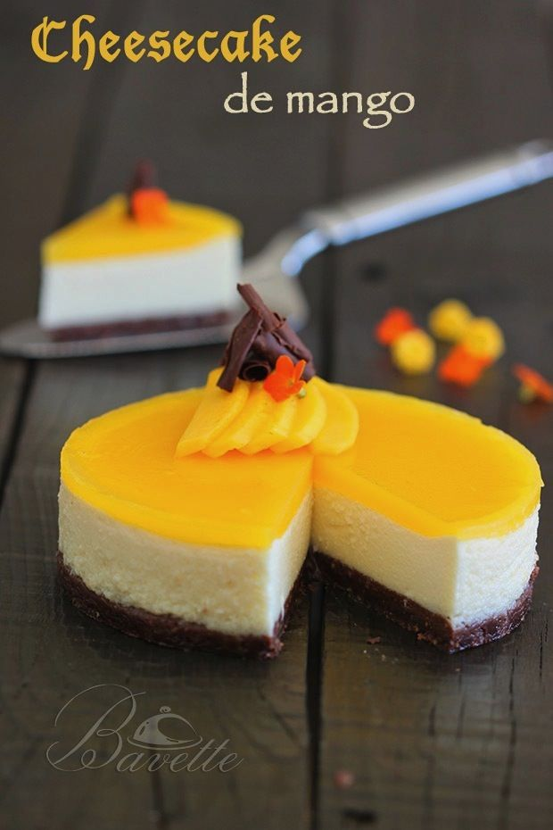 Cheesecake with Mango !!!