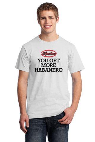 El Yucateco You Get More Habanero Full Front Short Sleeve Tee - Unisex – El Yucateco Gear Shop
