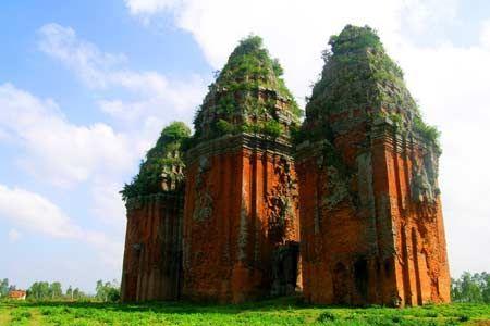 Qui Nhon Ban It Towers - Binh Dinh Province, Vietnam