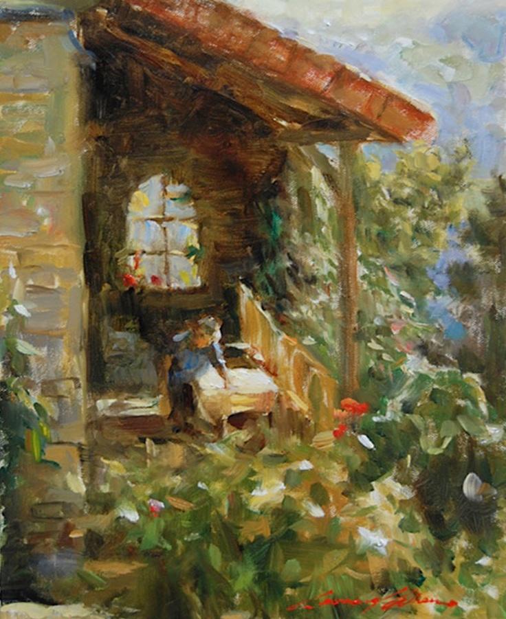 Leonard Wren - Artist, Fine Art Prices, Auction Records ... |Leonard Wren Paintings