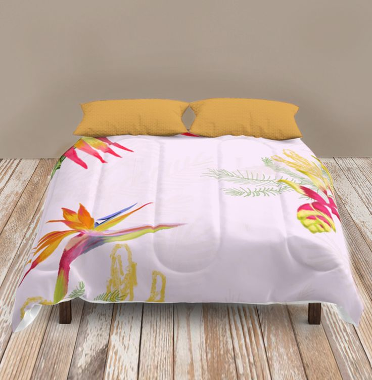 Tropical flower cozy comforter - Natalia CA.
