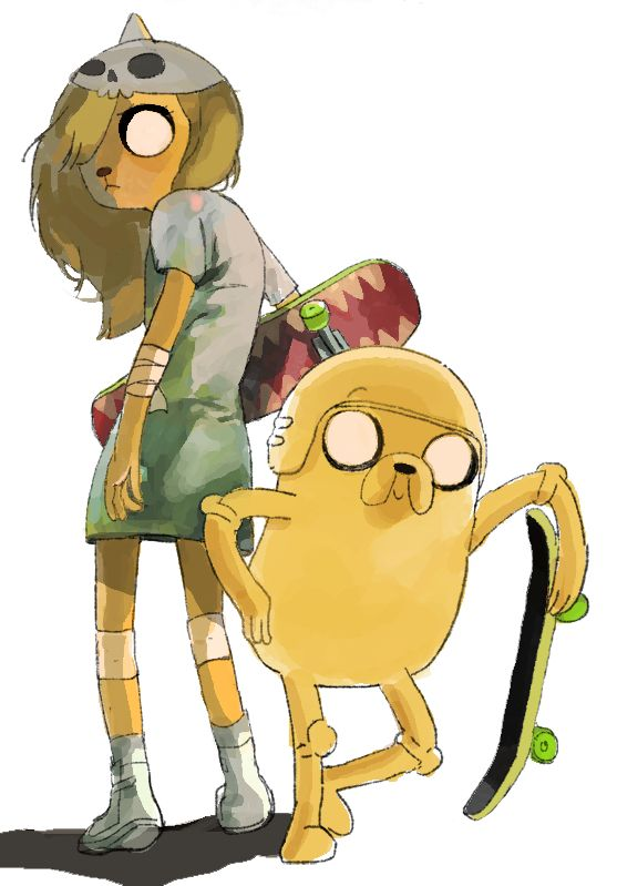 Bronwyn and Jake - Adventure Time