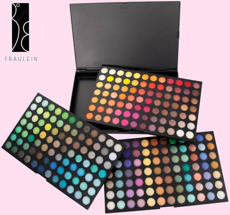 Trusa Farduri 252 culori Fraulein38, 3 palete culori