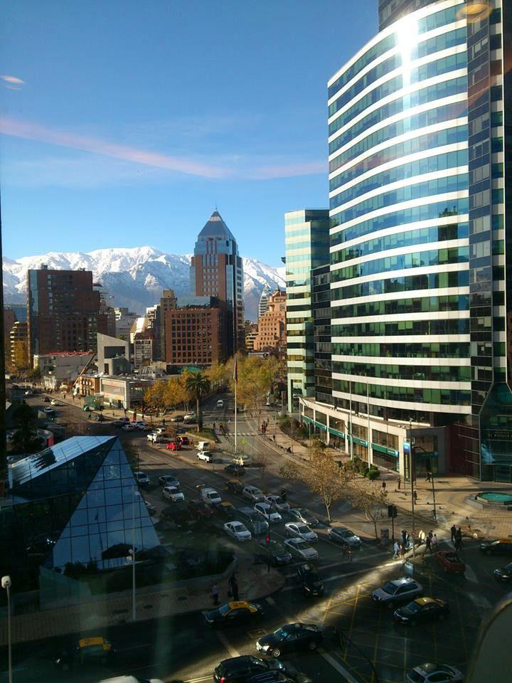After rain, Santiago, Chile