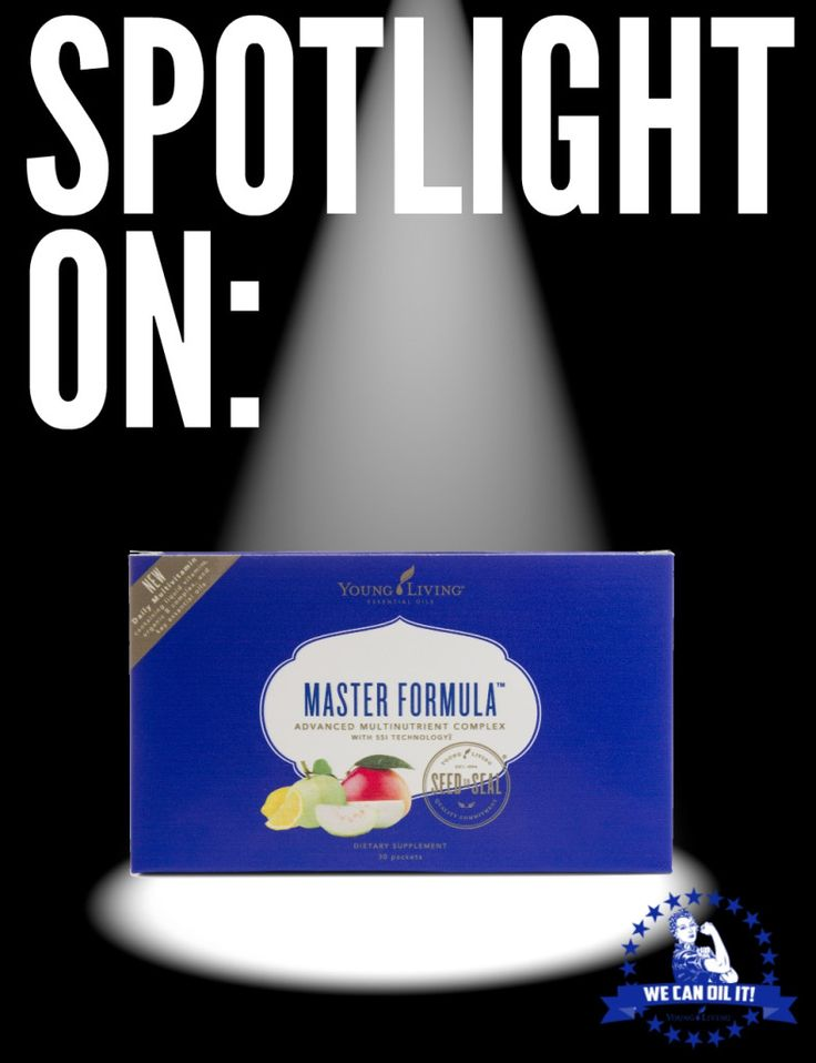 Spotlight on - Young Living's Master Formula
