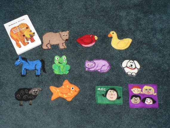 Language/Literacy Brown Bear, Brown Bear Felt Board