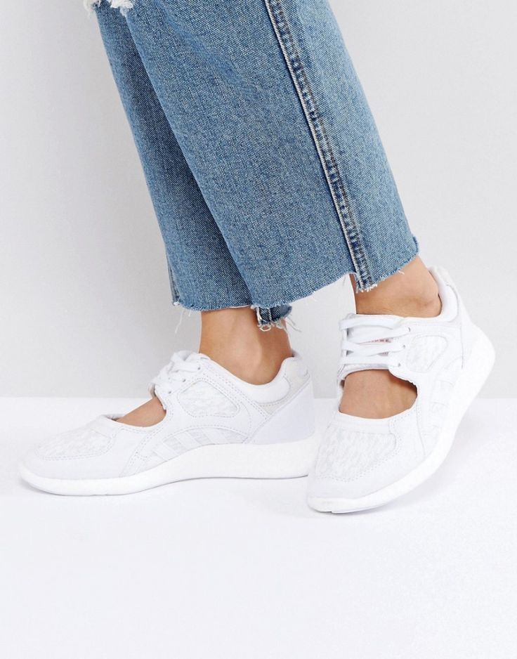 #Damen adidas Originals – EQT Racing – Sneaker in Weiß – Weiß, Gr. 37,38,39,40,41,42, 4057283873933