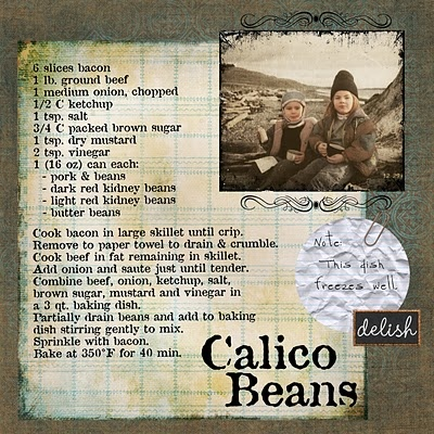 Calico Beans...