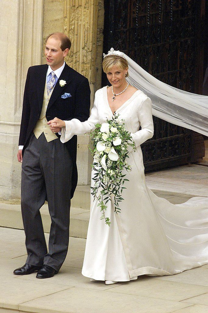 Prince Edward and Sophie Rhys-Jonesat St Georges chapel ...