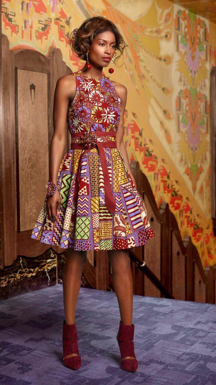 The 25+ best Model de pagne africain ideas on Pinterest   Model de robe pagne, Model de robe wax ...
