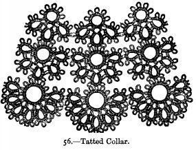 Tatted Collar.