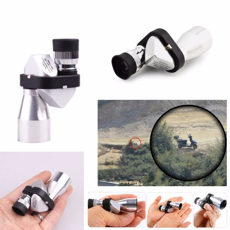 Mini Pocket 8x20 HD Corner Optical Monocular Telescope Eyepiece for Outdoor Camping Hiking Modern design #Affiliate