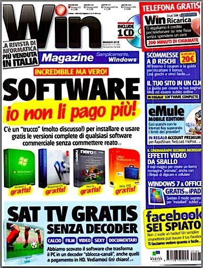 Win Magazine N°165 - Maggio 2012Italian | PDF | 132 Pages | 39 Mb