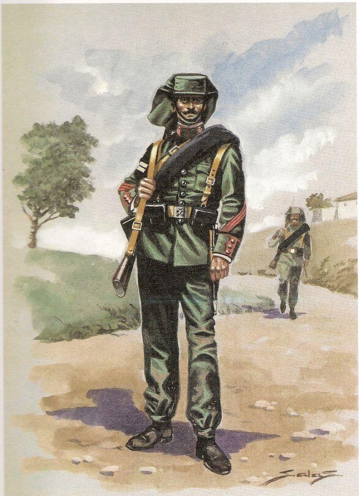 Guardia civil, 1920