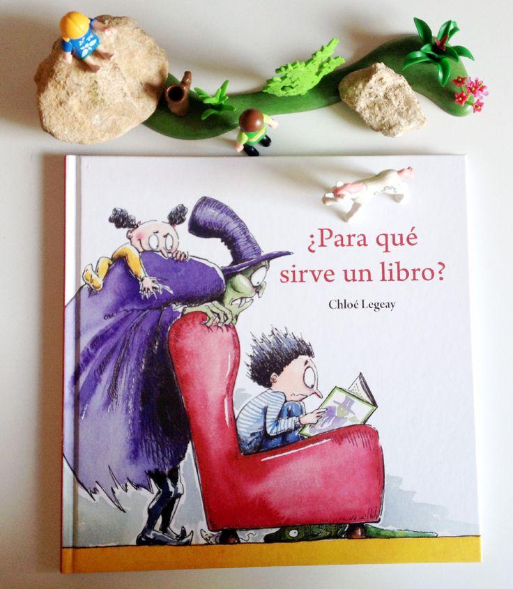 """Literatura Infantil Respetuosa: RESEÑA DEL ÁLBUM """"PARA QUE SIRVE UN LIBRO"""""""