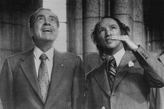 Trudeau and Nixon