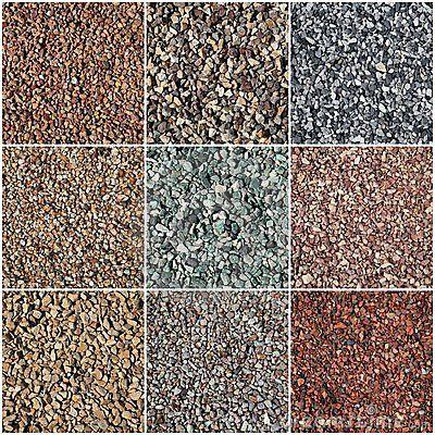 More pea gravel