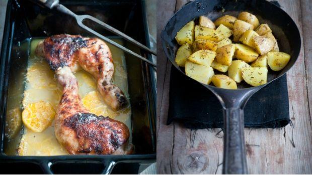 Kuře na pomerančích a zázvoru | Prima Fresh