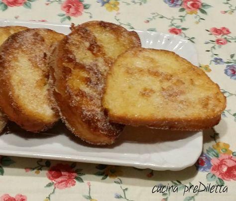 Il pane fritto dolce è una ricettina facile e veloce. Credo che sia una di quelle cose che preparavano tutte le nonne, un po' per il gusto di prepararci....