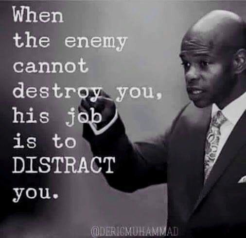 God Quotes | don't get distracted