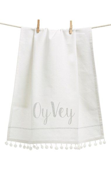 Levtex 'Oy Vey' Dish Towel available at #Nordstrom