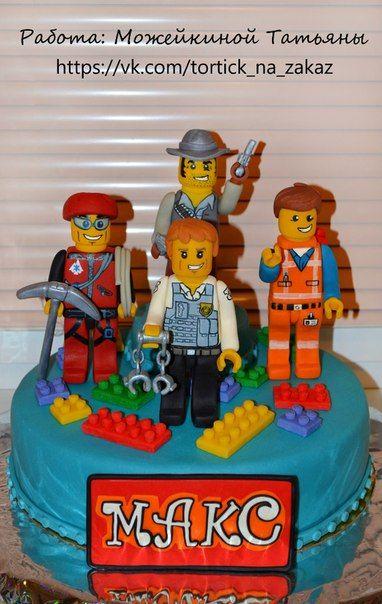 Торт Лего. Lego.