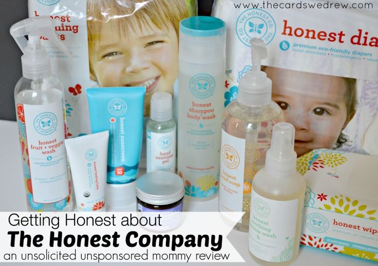 An unsponsored, unsolicited real mom's review of The Honest Company products.