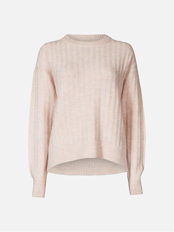 Angie sweater | | Lys rosa | BikBok | Norge