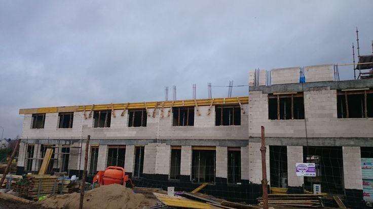Budowa mieszkań w Rumi - Osada Kazimierza - Grudzień 2015