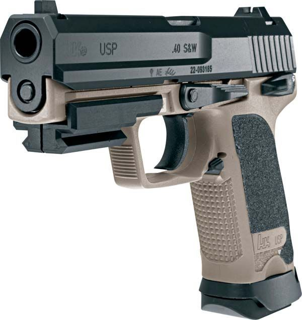 """H&K USP 40 - You could NEVER go wrong with ANY of the USP pistols! Arguably one of the best """"combat/duty"""" pistols ever made!"""