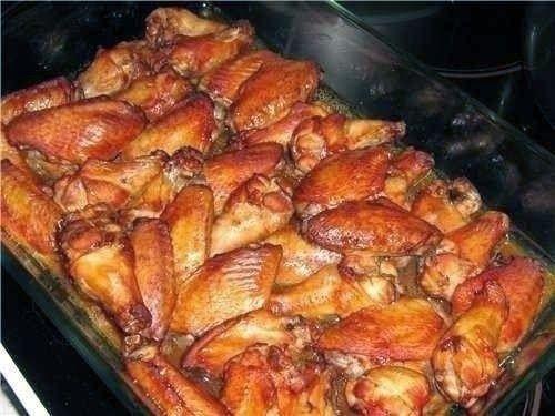 """Шустрый повар.: """"Копченые"""" куриные крылышки"""