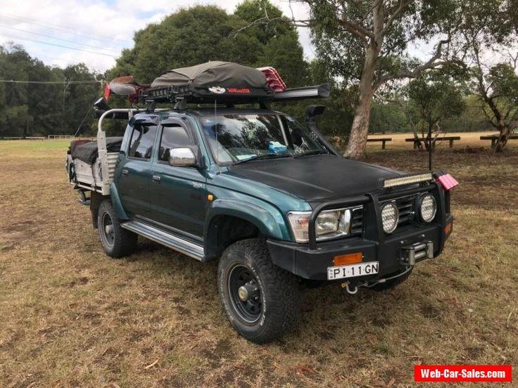 Car for Sale Toyota Hilux SR5 1998 3.0ltr diesel February
