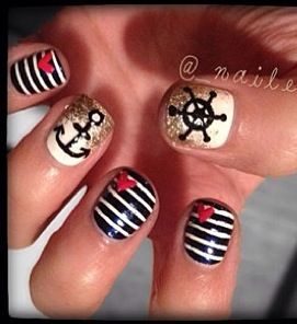 Cute nails  Free Nail Technician Information!!!!!!!!  www.nailtechsucce...