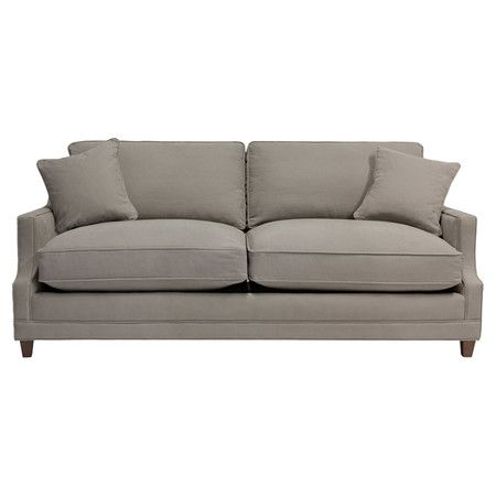 Entertain overnight guests in classic style with this traditional sleeper sofa, featuring cotton upholstery and welted double cushions.  jossandmain.com