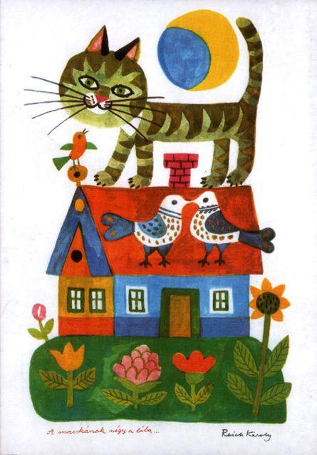 ¤ Animalarium: Hungarian Fantasy Des mots pour les animaux. Poèmes de Pierre Gamarra, Images de Karoly Reich. Editions la Farandole 1974