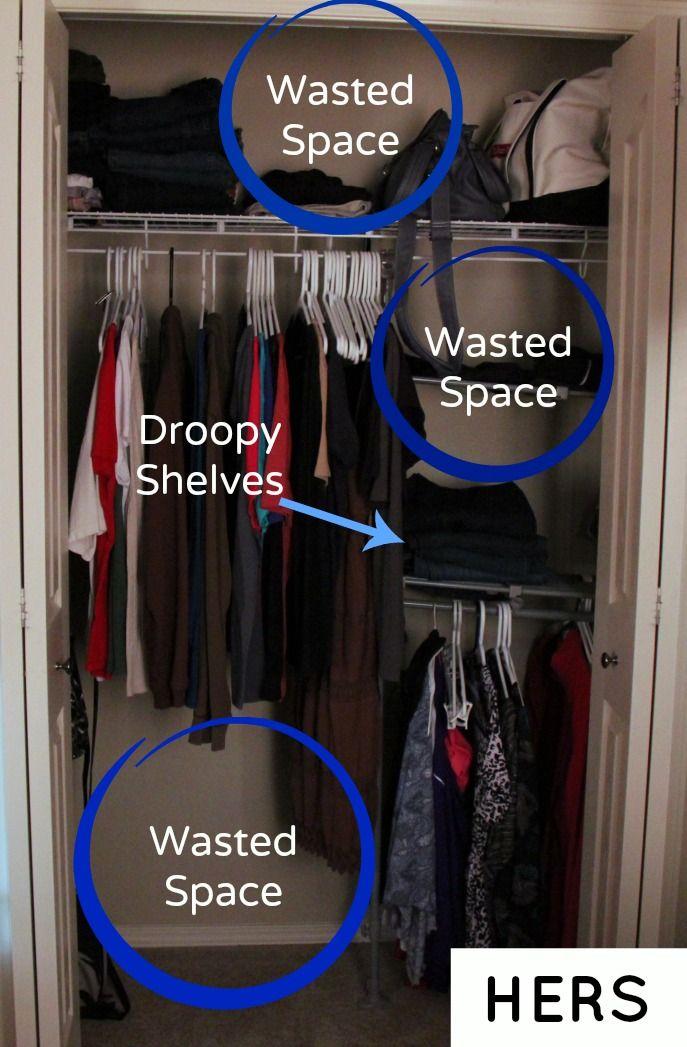 My Organized Closet Closetmaid At The Home Depot
