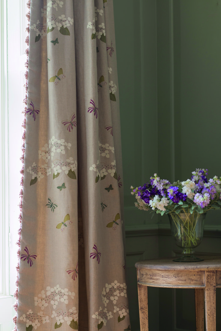 These Timeless Hydrangea Curtains Are Perfect To Dress Any Room. They Are  Adaptable To Work With Lots Of Themes Of Rooms: Purple, Green, Pink, ...