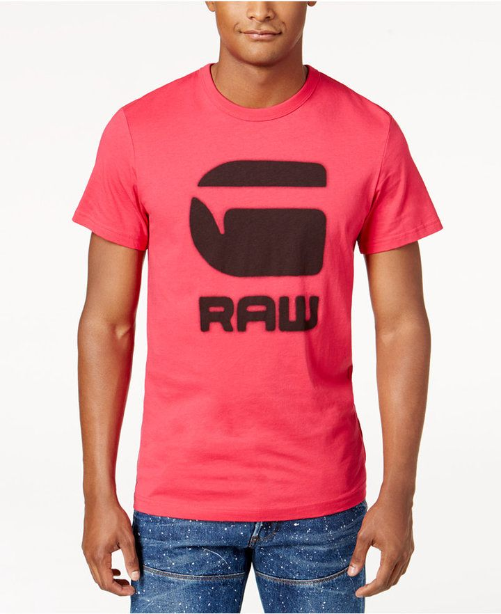 G STAR RAW G-Star RAW Men's Graphic Print T-Shirt