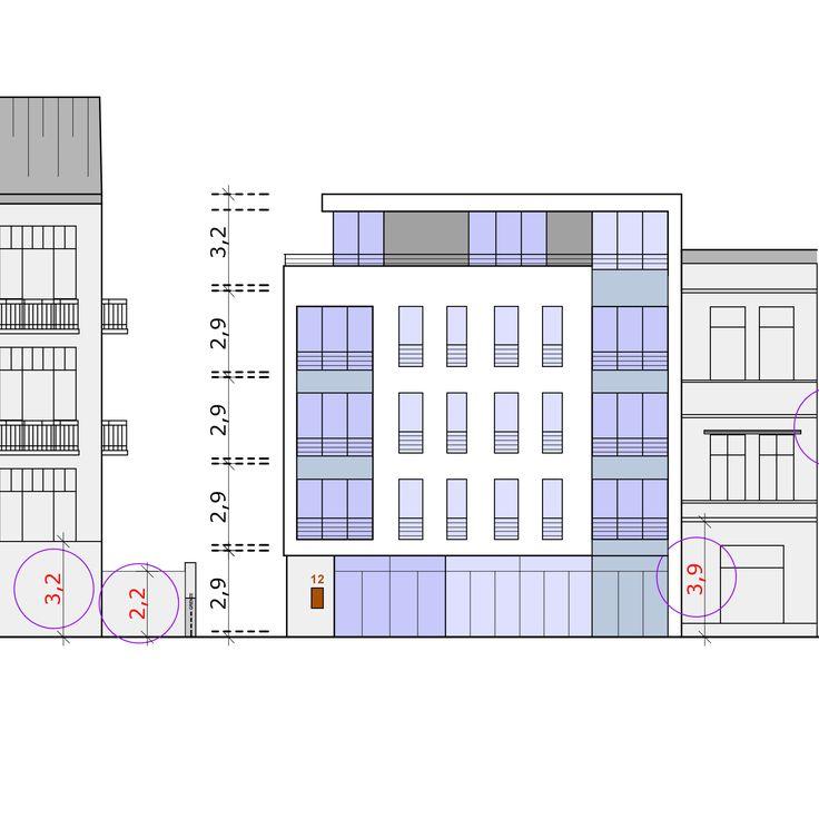 Konzeptstudie / Vorplanung für ein  ehem. Gewerbegrundstück in Wentorf, Hamburg