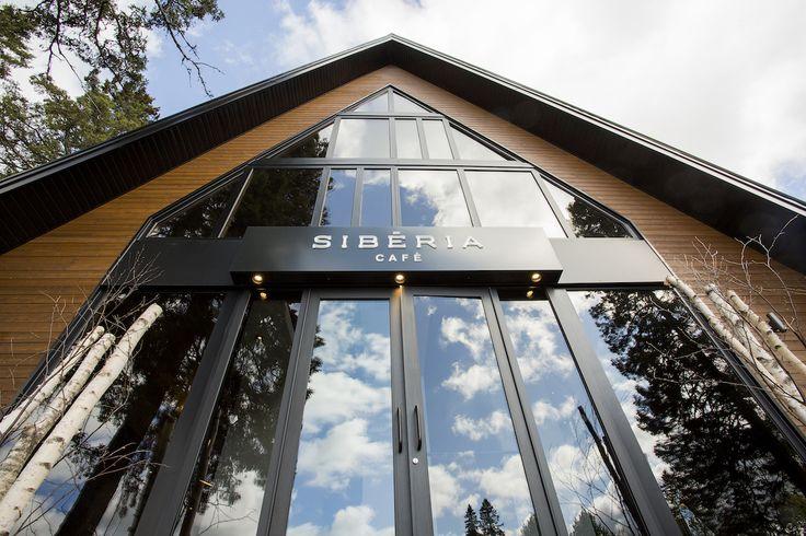 Le Sibéria Café, chapelle de bien-être revisitée par Steve Girard - Index-Design.ca