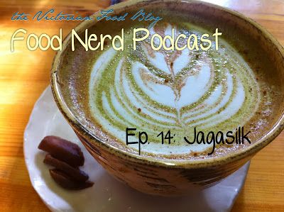 The Food Nerd Podcast Episode 14: JagaSilk #tea #maccha