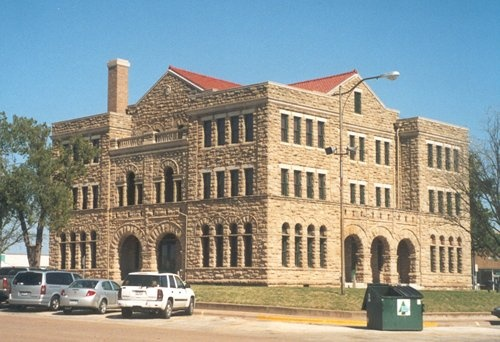 1892 Archer County Courthouse Remodeled