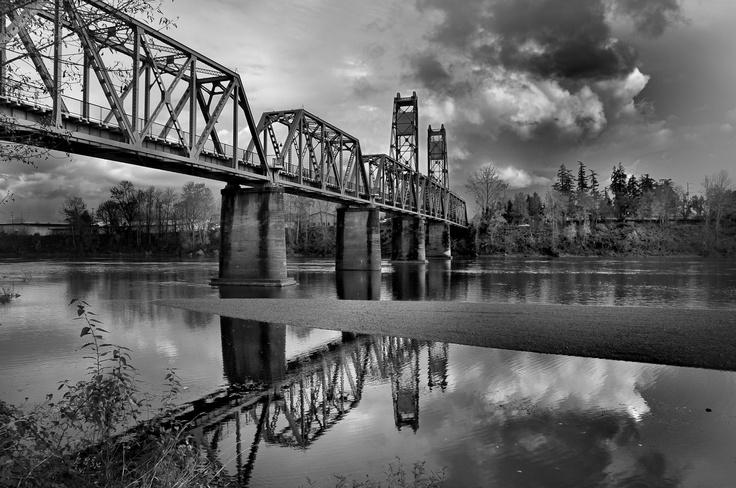 Salem Oregon Bridge Oregon, Salem oregon, Pacific northwest