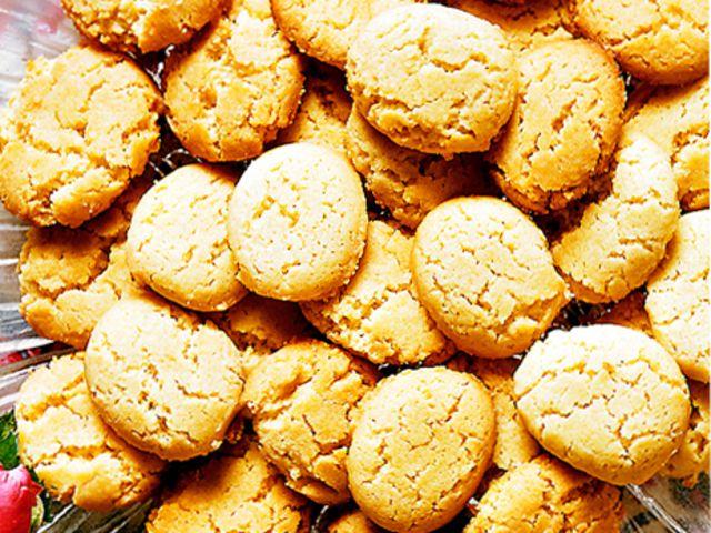 Ökensand - spröda småkakor (kock recept.nu)