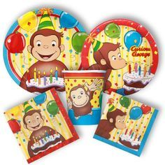 Curious George Party Supplies, Curious George Birthday Favors: Discount Party Supplies